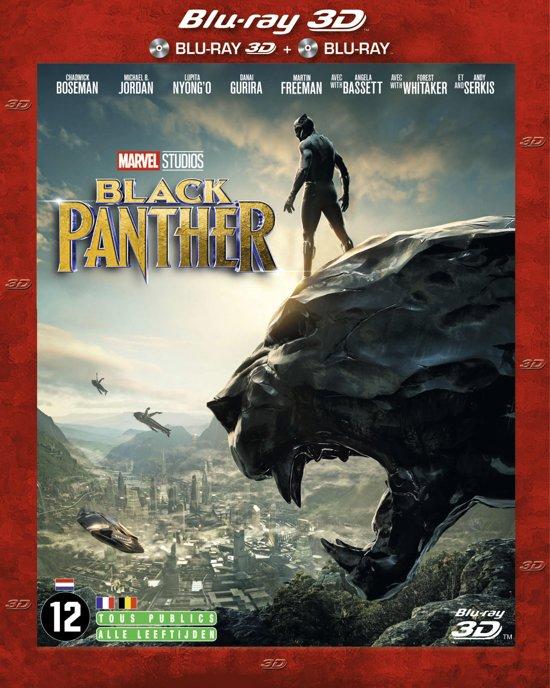 DVD cover van Black Panther (3D Blu-ray)