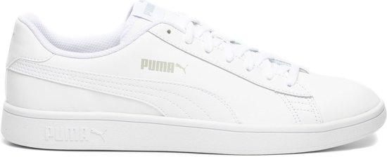 5e35427639f bol.com | PUMA Smash v2 L Sneakers Unisex - Puma White-Puma White