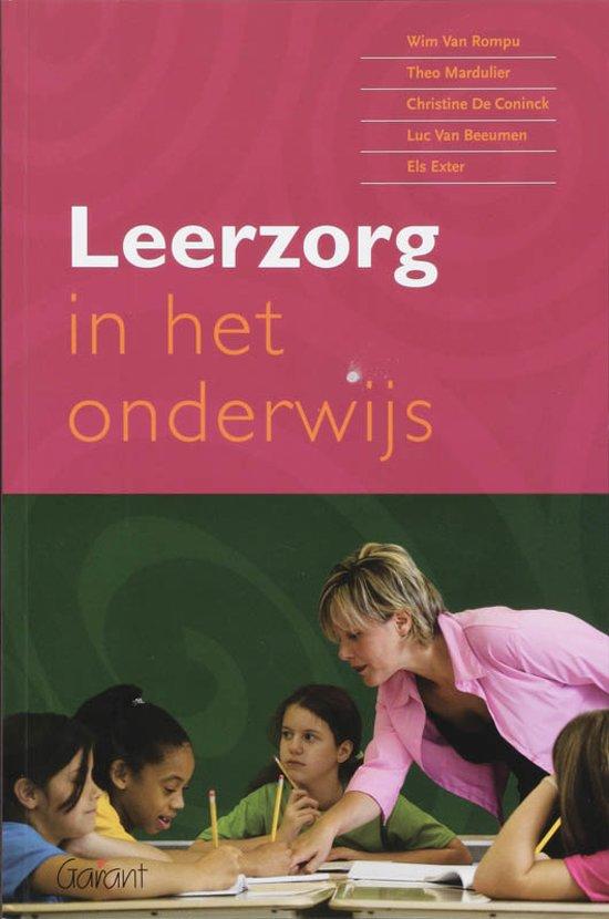 Leerzorg In Het Onderwijs