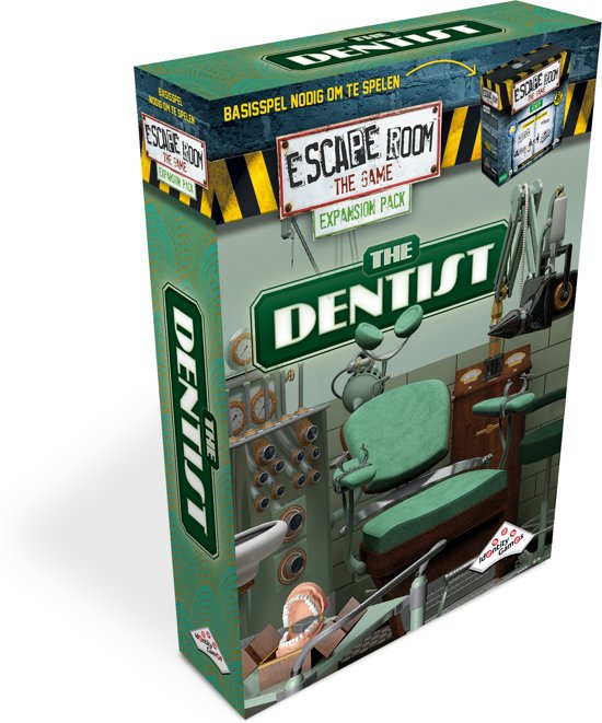Uitbreidingsset Escape Room The Game The Dentist