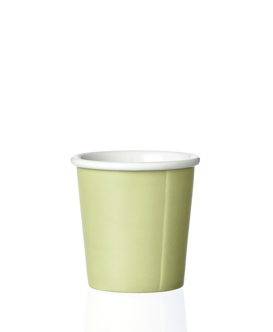 Viva Scandinavia Papercup Anna - Keramiek - 80 ml - Spring Leaf