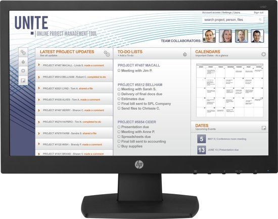 HP V197 - HD Monitor
