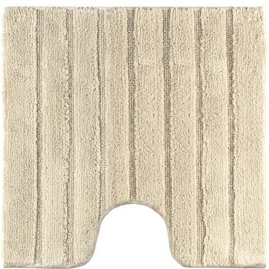 Casilin California - Anti-slip WC mat - Beige - 60 x 60 cm