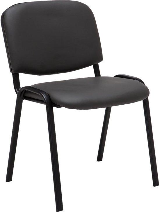 Clp Bezoekersstoel, wactkamerstoel, conferentiestoel KEN  - stapelbare stoel - Grijs