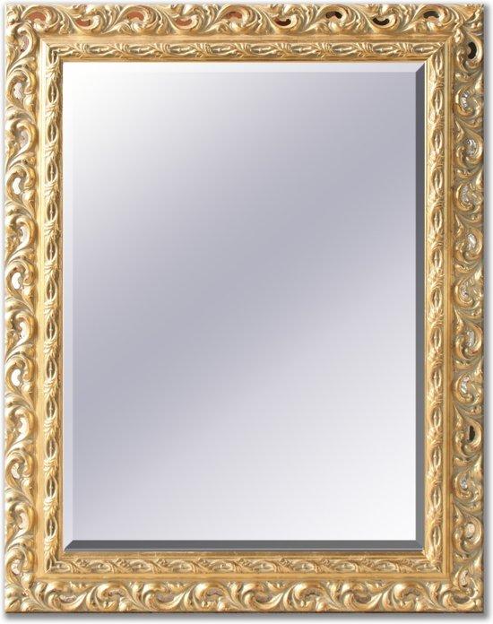 Wandspiegel Met Sierlijst.Spiegel Met Champagne Sierlijst