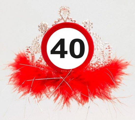 40 jaar geworden bol.| Tiara 40 jaar geworden, Folat | Speelgoed 40 jaar geworden