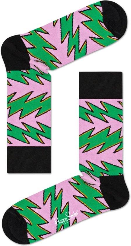 d318775b6b0 bol.com | Happy Socks Rock & Roll Stripes Sokken - Roze/Groen - Maat ...