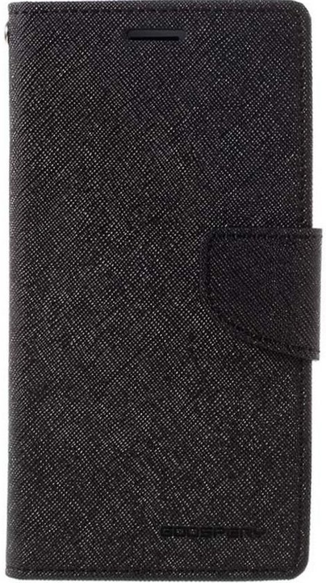 Mercury Fancy Diary WalletCase Apple iPhone 6/6S (4.7'') - Zwart in Bourlers