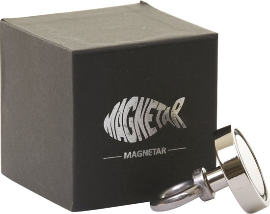 Magneetvissen met vismagneet 80kg - Metaaldetector magneet  - Kleine krachtige zoekmagneet voor metaalvissen