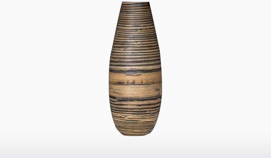 Wonderlijk bol.com | Dassie Artisan Vaas – Myung – Large – Bamboe NU-37
