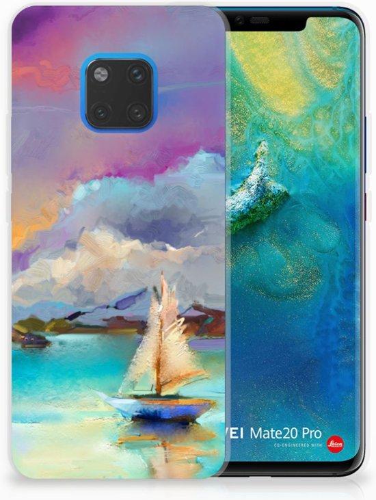 Huawei Mate 20 Pro Uniek TPU Hoesje Boat