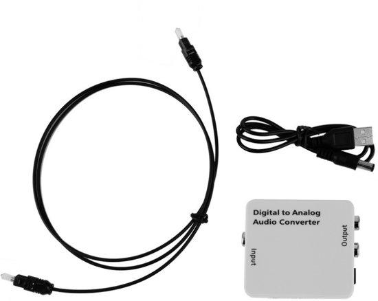 Ongebruikt bol.com | Digitaal Naar Analoog Audio Converter - Optical USB VK-56