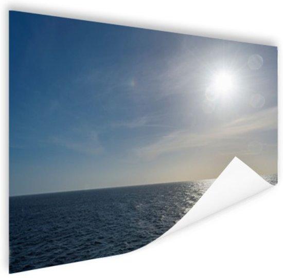Noordzee in Europa Poster 120x80 cm - Foto print op Poster (wanddecoratie woonkamer / slaapkamer)
