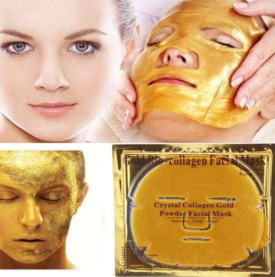 Bol Gold Bio Collagen Gezichtsmasker. Gold Bio Collagen Mask Crystal Powder Face