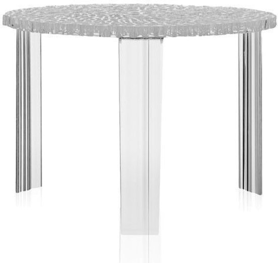 Kartell T Table Bijzettafel.Bol Com Kartell T Table Salontafel Kristal Medium