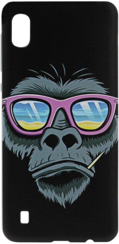 ADEL Siliconen Back Cover Softcase Hoesje voor Samsung Galaxy A10/ M10 - Apen Gorilla