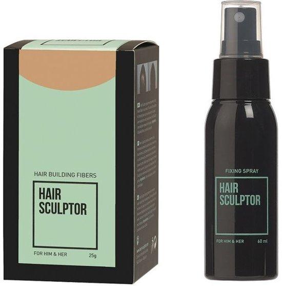 Hair Sculptor Hair Building Fibres Blond + Hair Sculptor Fixing Spray