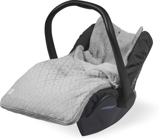 Jollein Diamond knit  Comfortbag groep 0+ 3/5 punts grijs