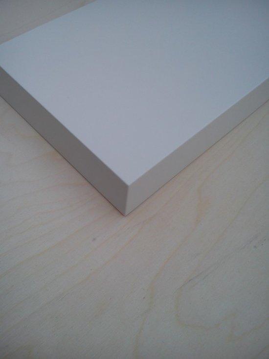Hoogglans Plank Op Maat.Bol Com Blinde Wandplank In Ralkleur Gespoten 60x15 Elke