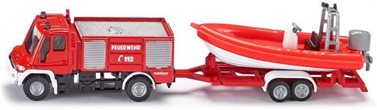 Fire Engine with boat
