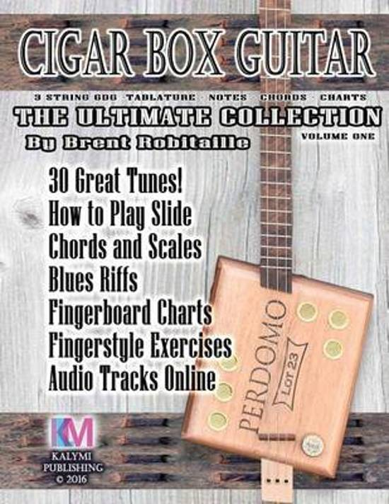 Bol Cigar Box Guitar The Ultimate Collection Brent C