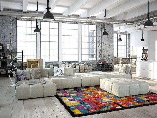 Kayoom vloerkleed 200 x 290 Multikleur