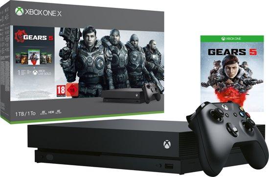 Afbeelding van Xbox One X console 1 TB + Gears 5