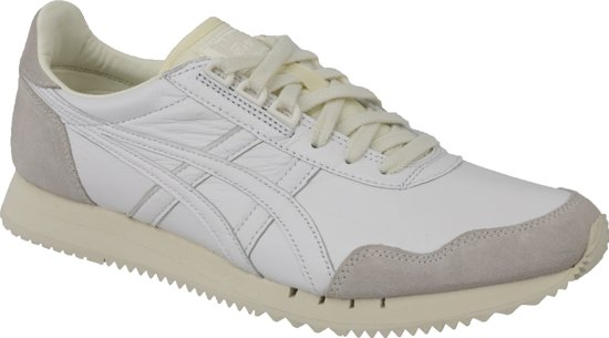 Onitsuka Tiger Dualio D6L1L-0101, Mannen, Wit, Sneakers maat: 41.5 EU