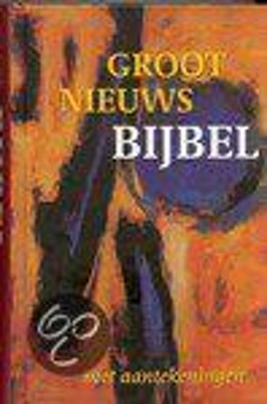 Groot nieuws bijbel zonder deuterocanoni - Onbekend |