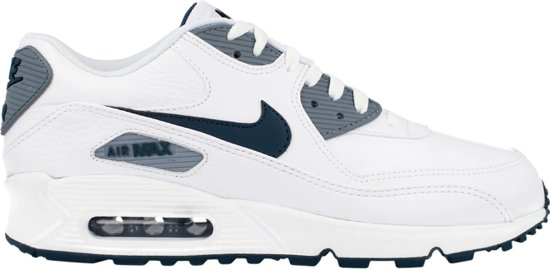 separation shoes 4abff 35778 ... closeout nike air max 90 ltr white space blue magnet grey leather  652980 101 wit 4756a