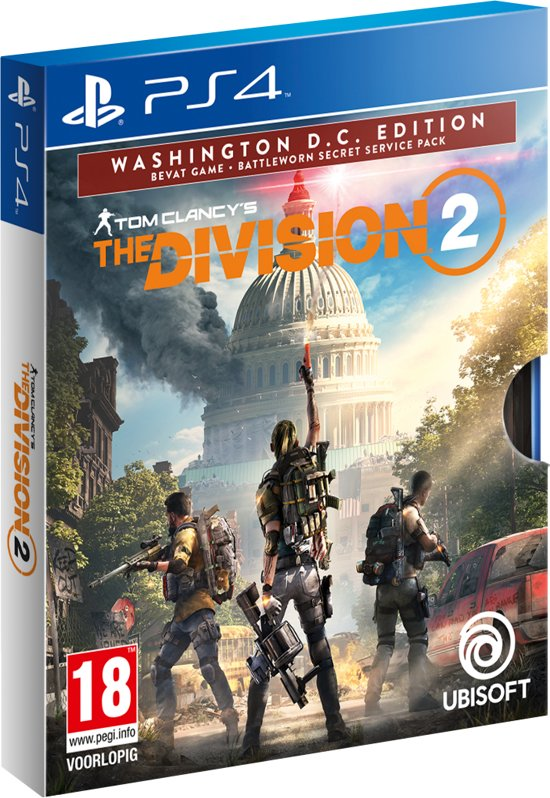 Cover van de game The Division 2 - Washington D.C. Edition - PS4