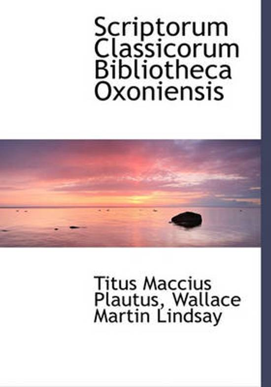 Scriptorum Classicorum Bibliotheca Oxoniensis