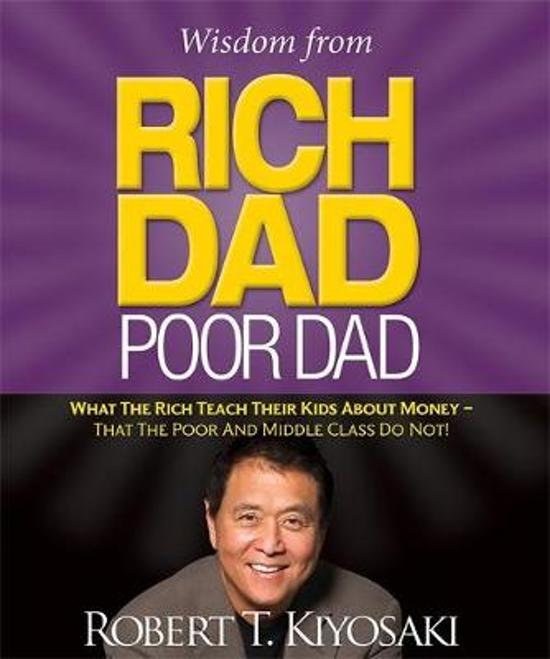 Boek cover Wisdom from Rich Dad, Poor Dad van Robert Kiyosaki (Hardcover)