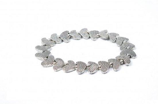 Pineapple Island Armband met Platte Hartjes