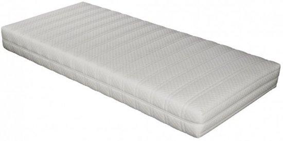 Matras 80x200 x14cm SG 25 Polyether matras met anti-allergische wasbare Badstof hoes met rits