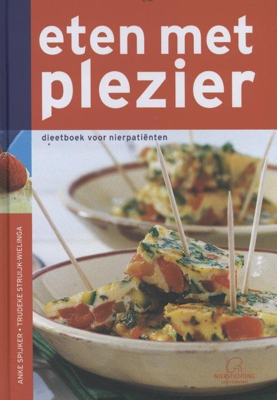 Eten met plezier dieetboek voor nierpatienten - Voorkant