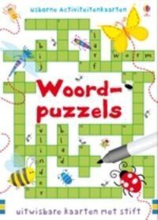 Puzzelkaarten Woordpuzzels