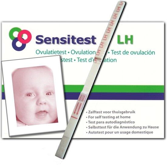 Sensitest ovulatietest dipstick 12 stuks