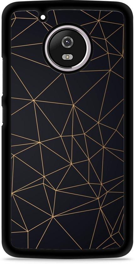Moto G5 Hardcase Hoesje Luxury