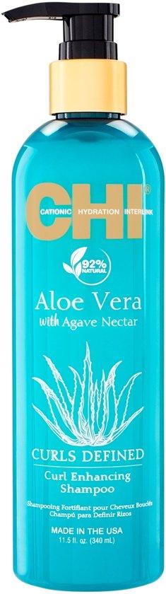 CHI Aloe Vera curl enhancing shampoo 340ml