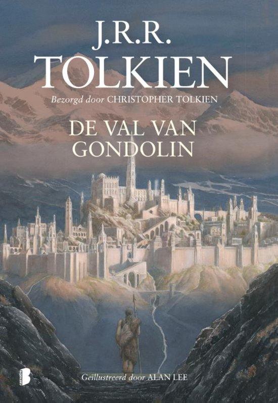 Boek cover De val van Gondolin van J.R.R. Tolkien (Hardcover)