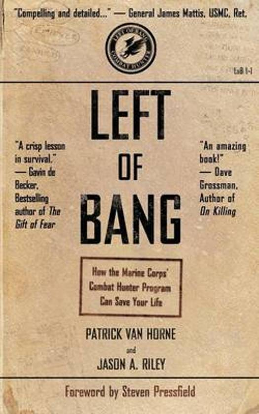 Boek cover Left of Bang van Patrick Van Horne (Paperback)