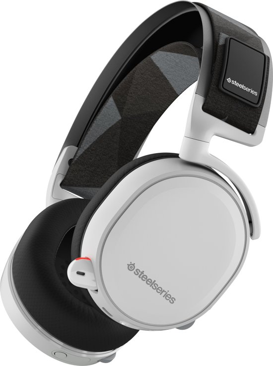 SteelSeries Arctis 7 - 2019 Editie - Draadloze Gaming Headset - Wit - PC