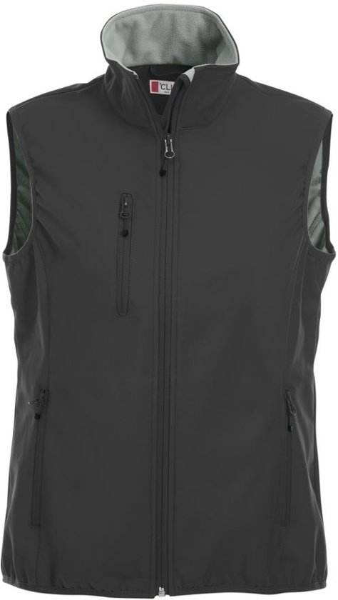 S Craft Ds Zwart Bodywarmer Basic Softshell B7nra7x