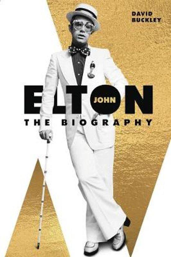 Boek cover Elton John van David Buckley (Paperback)