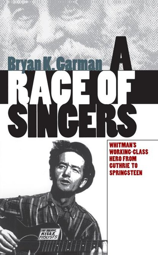 Boek cover A Race of Singers van Bryan K. Garman (Onbekend)