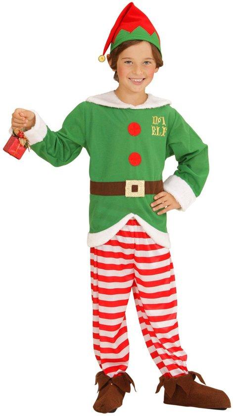 Bol Com Kerst Elf Kostuum Voor Kinderen Verkleedkleding 116
