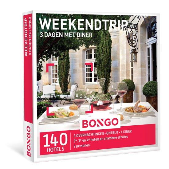 BONGO - Weekendtrip, 3 dagen met diner - Cadeaubon