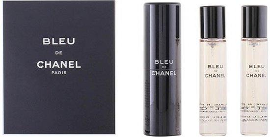 Chanel Bleu de Chanel Parfum - 3-delig Geschenkset - Navulbaar