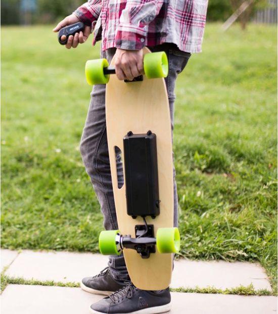 Archos SK8 Elektrisch Skateboard met handige draaggreep - Kleur Groen